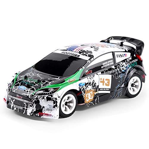 JYLSYMJa 1/28 RC Crosse Country Car, 4WD High Speeds RC Stunt Car, Vehículo Todoterreno de 2.4GHz con chasis de aleación Coche de Juguete eléctrico RC para niños