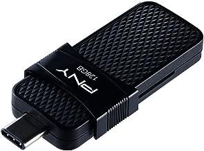 PNY Duo Link OTG 128GB Type-C Drive, Up to 130MB/S – P-FD128OTGSLTC-GE
