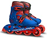 Stamp Sm250302 Spiderman Patines en línea Ajustables Tamaño 30 – 33, Boys, Azul, Sizes 30-33