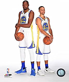 Kevin Durant Stephen Curry Golden State Warriors 2016-2017 NBA Posed Photo (8