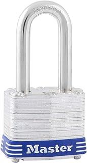 Master Lock 3DLF Padlock with Key, 1 Pack, Steel