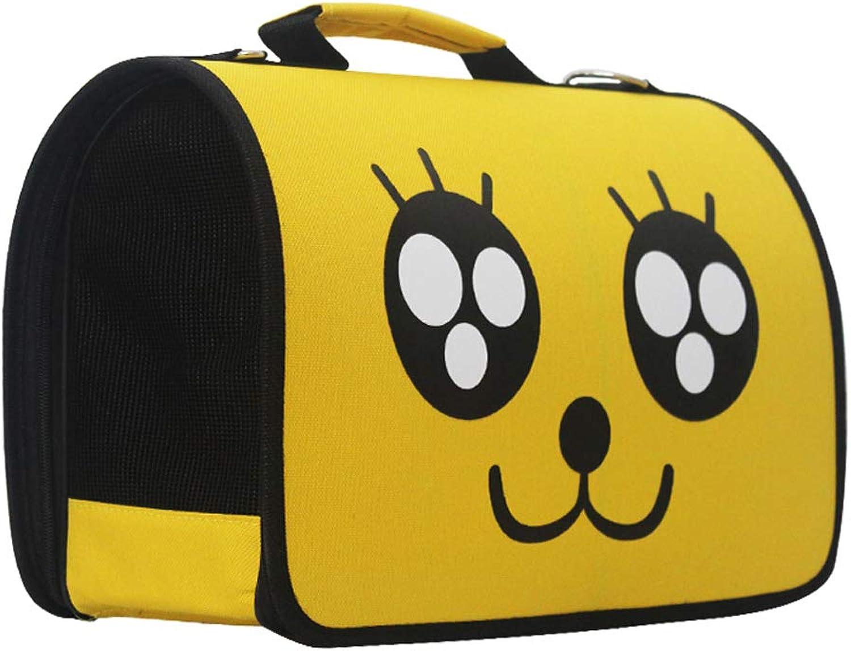 MXD Cat Backpack Out Backpack The Cat Cage Portable Bag Dog Bag Breathable Cat Bag Cat Backpack Cat Bag Suitcase Pet Bag (Size   S)