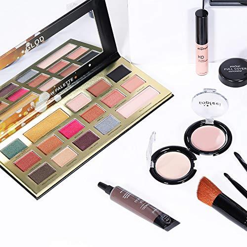 Dreameryoly Pro-Make-up-Pinsel-Set,30-teiliges Make-up-Set,POPFEEL ALL IN ONE Make-up-Set KIT005Alles In Einem Make-up-Paket,Lidschatten-Palette,Make-up-Set Oder Lipgloss-Set Usw. special