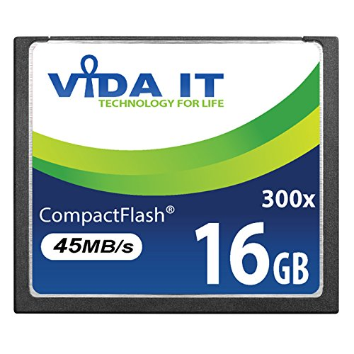 Nueva Tarjeta DE Memoria 16GB Compact Flash 200x CF Alta Velocidad DE 16GB para Canon EOS 10D EOS 20D EOS 20Da EOS 300D EOS 30D 350D 400D 40D 50D 5D EOS 5D Mark II EOS 7D EOS D30 SLR CÁMARA Digital