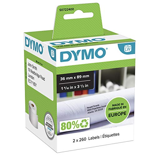 Dymo LabelWriter S0722400 Etiquettes 36x89mm