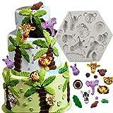 bozoa Animal Formen Kuchen dekorieren Supplies Silikon Formen für Schokolade DIY Cookies Mousse...
