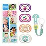 MAM Premium Soothing Set, juego de regalos para bebés de +6 meses, incluye 2...