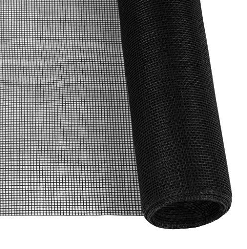 Windhager Insektenschutz PERFECT VIEW, Fliegengitter Insektenschutzgewebe, aus hochwertigem Fiberglas, für perfekte Durchsicht, anthrazit, 120 x 250 cm, 03501