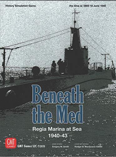 GMT Games Beneath The Med: Regina Marina at Sea, 1940-43