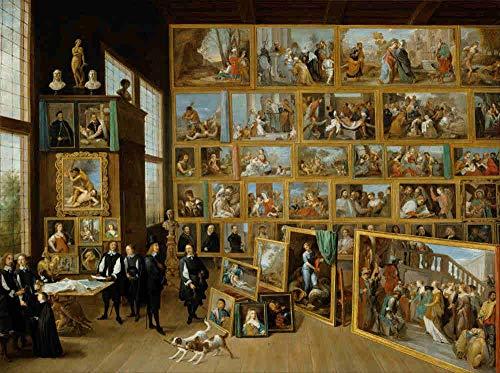 KUANGPP Rompecabezas de 6000 Piezas, Rompecabezas para Adultos, Pintor artístico, Decoraciones hogar