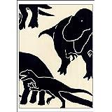 [江戸てん]手ぬぐい 注染 梨園染 綿100% 日本製 恐竜