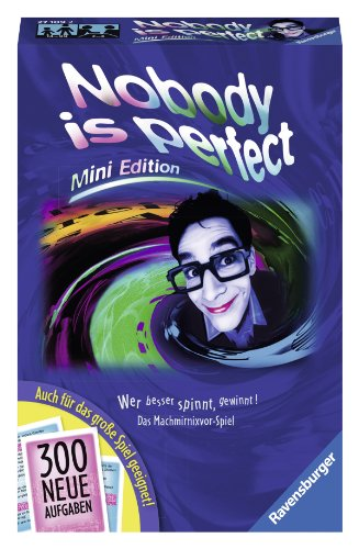 Ravensburger 27109 - Nobody is perfect – Mini Edition