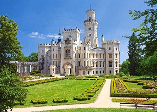 alles-meine.de GmbH Puzzle 1000 Teile - Schloß Frauenberg - Hluboka NAD Vltavou - Tschechien Tschechische Republik - Landschaft Schlößer Burg
