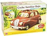 SYLVANIAN FAMILIES - Coche Familiar, Color Rojo (2908)