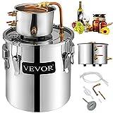 VEVOR Destilador de Agua de Calentamiento Automático12.3L 3.3 GAL Destilador de Agua Elaboración...