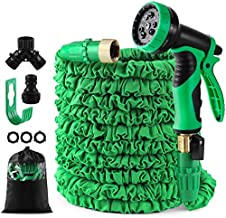 50 feet Expandable Garden Hose, Water Hose, With Triple Layered Latex Core, With 3/4