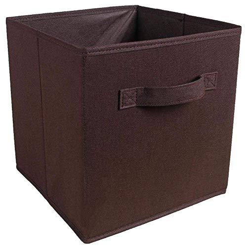 QUK New Non Woven Fabric Folding Closet Storage Box Toys Organizer Clothes Storage Bin For Underwear Bra Socks With Handle Chest | Storage Bins | Organizer Clothesstorage Box Toys
