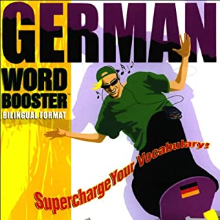 German Word Booster audiobook cover art