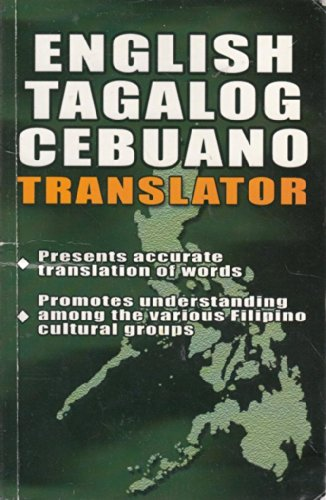 English Tagalog Cebuano Translator (Philippines)