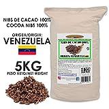 Cacao Venezuela Delta - Nibs De Cacao · Origen Venezuela · 5kg - Calidad Premium