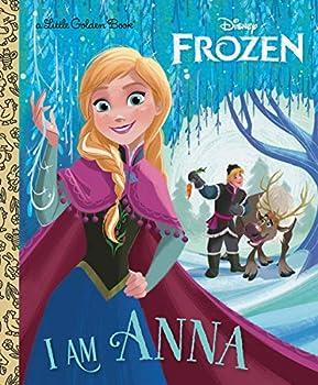 I Am Anna  Disney Frozen   Little Golden Book