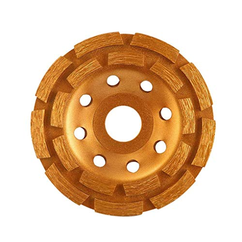 DS-Wang Abrasive 1 Pcs Diamond Bowl Grinding Plate 105Mm Double Row Grinding Wheel Stone/Marble Grinding Wheel