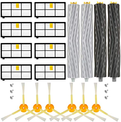 Filtros de repuesto compatibles con Roomba 800 900 Series 800 860 865 866 871 876 880 886 890 891 895 960 966 980 900