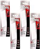Fluval U3 - Almohadillas de Espuma para Filtro subacuático, 2 Almohadillas Cada uno