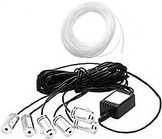 Auto LED Sfeer Lights, Plug-in Lights Mini Interior Ambient Lighting Kit voor auto's Night Lights en extra pluggen Decorat...