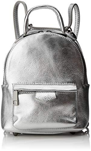 Chicca Borse Cbc7701tar, Borsa a Zainetto Donna, Argento (Argento), 11x20x17 cm (W x H x L)