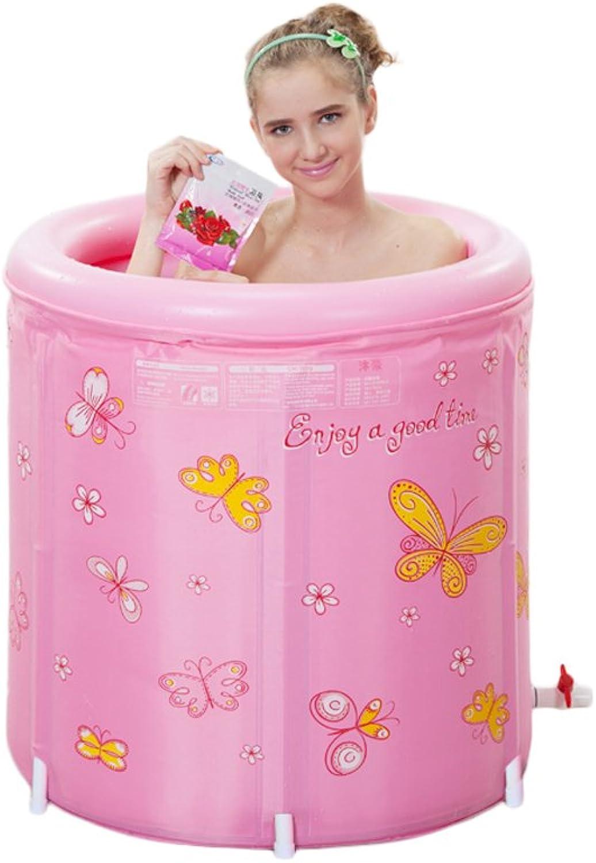 Sun rain Baigblacke gonflable pour baigblacke pliante pour adultes et pour bébés Grande size bluee (color   Pink)