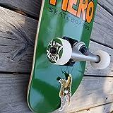 Antihero Pigeon Hero Factory Skateboard, 19,7 cm, Grün