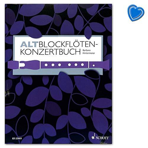 Altblockflöten-Konzertbuch - 60 Stücke aus 5 Jahrhunderten - Verlag: Schott Music ED22403 9783795709136