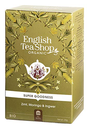 English Tea Shop - Moringa, Zimt & Ingwer, BIO, 20 Teebeutel - (DE-Version)