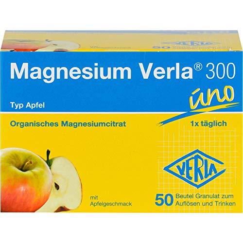Magnesium Verla 300 uno Typ Apfel Granulat, 50 St. Beutel
