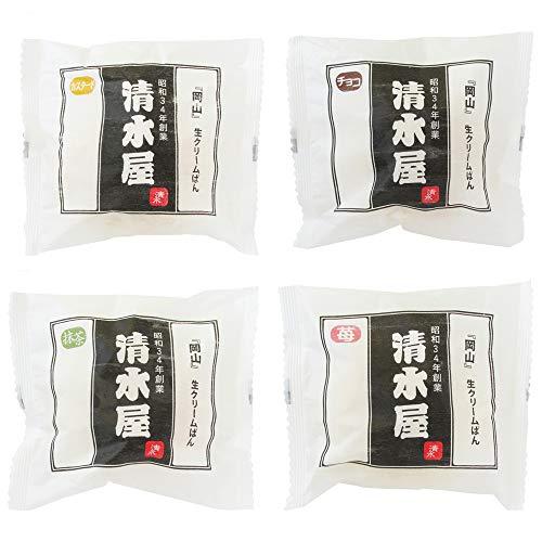 清水屋の生クリームパン8個/24個 (各味6個ずつ24個)