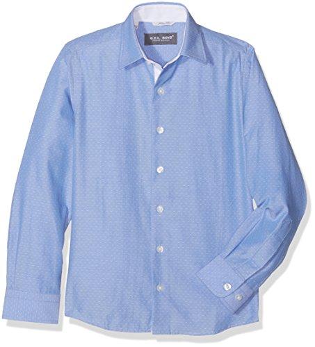 G.O.L. Jungen Kentkragen, Slimfit Hemden, Blau (bleu 10), 158