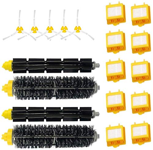 Supon Robot Repuestos Accesorios para Robot 700 790 782 780 776 774 772 770 760 Serie 700 Juego de Repuesto de Filtro de cepillos (7-101)