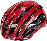 Kask Valegro Casque vélo de route Mixte Adulte, Rouge, M (52-58cm)