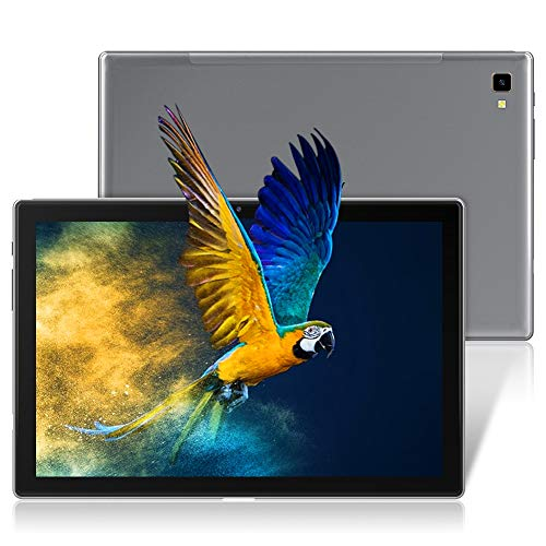 Tablet 10,1 Zoll, Blackview Tab8 Tablet 4GB RAM mit 64GB Speicher, 6580mAh Akku, 1920x1200 FHD IPS Display Android 10 Octa-Core Prozessor, 13MP+5MP Kamera, GPS, OTG, 4G Dual SIM Tablet PC (Grau)