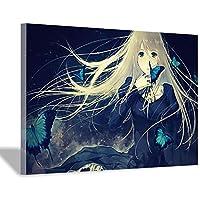 東京グール装飾ポスターキャンバスアートプリントウォールアート写真絵画キャンバスポスタープリントリビングルームオフィスホームデコレーション30x45cm(12x18inch)内枠ポスターb