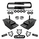 WULF 3.5' Adjustable Front Leveling Lift Kit compatible with 1999-2004 Ford F250 F350 Super Duty 4X4 4WD