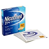 Nicotinell Nicotine Patch, Quit Smoking Aid Step 1, 24 Hour Patch, 21 mg