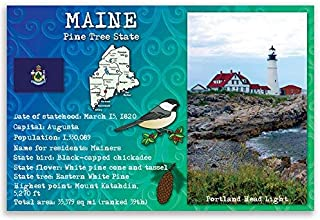 postcards of maine