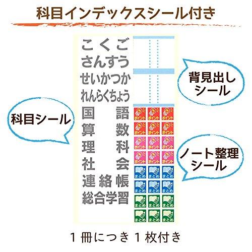 サクラクレパス学習帳米津祐介デザイン5mm方眼罫5冊パックNステツプ5H-5PC