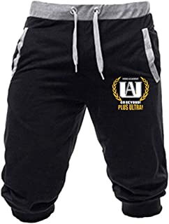 Genrice Mens Drawstring Pants Women Sweatpants Pants 3D Print My Hero Academia Sports Trousers Trousers