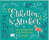 Stickerbuch - Etiketten & Sticker: Zum Dekorieren...