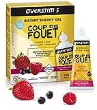 OVERSTIM.s - Coup De Fouet (10 X 30 G) - Frutas Rojas - Gel Energético Líquido Para El Deporte 300 g