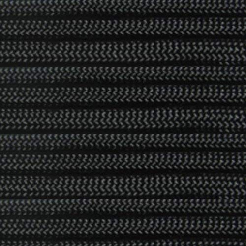 Marine Masters 5', 10', 20', 25', 35', 50', 60' 75' 90' 100', 250' 300' 500' Hanks & 1000' carretes de paracaídas 550 Cable Tipo III 7 hebras Paracord Negro, Negro, 150 Feet
