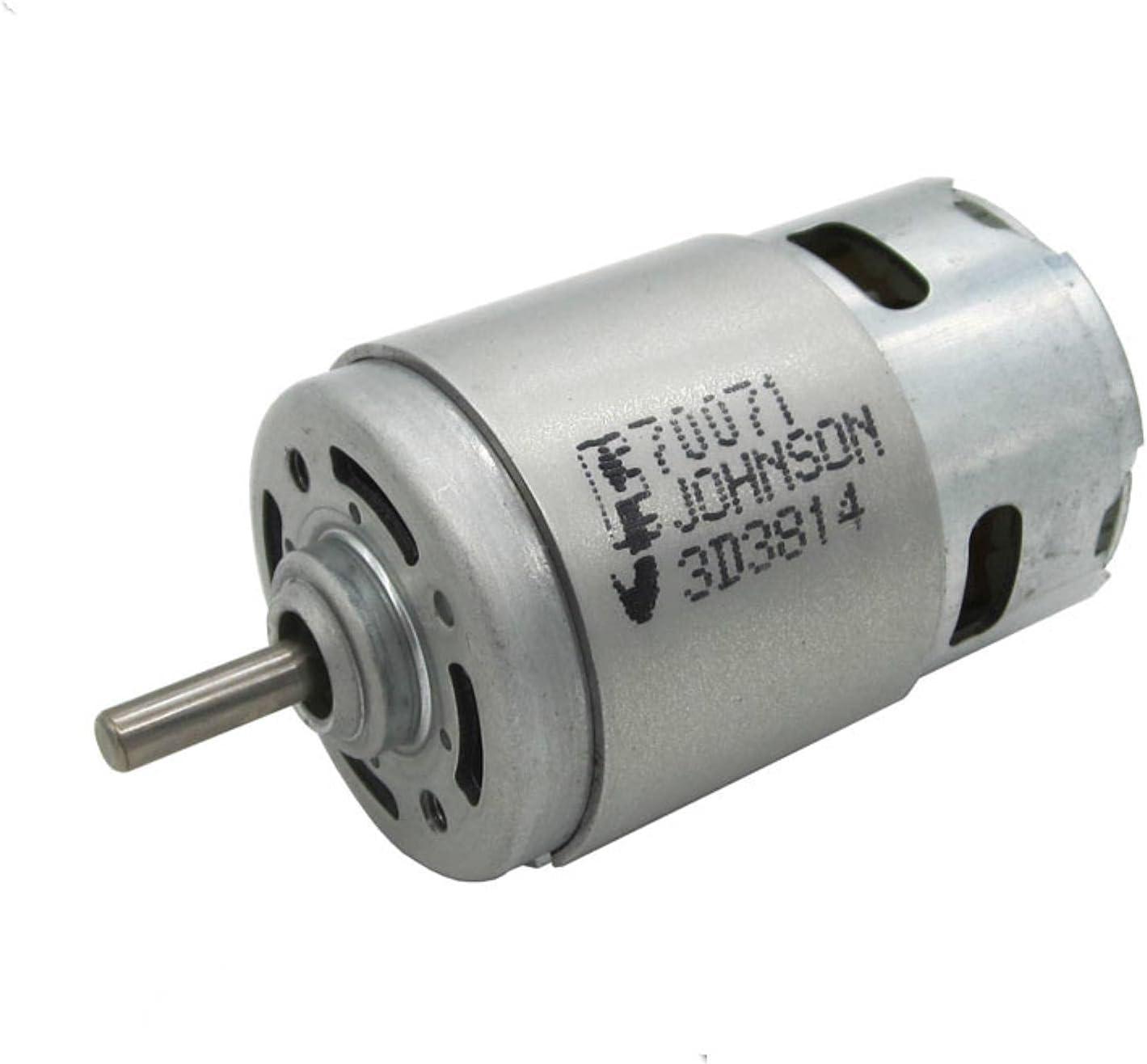 XACQuanyao para Johnson Electric 775 Motor de Alta Velocidad Modelo de Herramienta eléctrica Motor de Potencia 12V-18V Motor RS-775 de Alta Velocidad para Transferencia eléctrica
